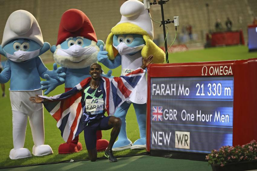 Mo Farah, Sifan Hassan Beat One-hour World Record In Brussels