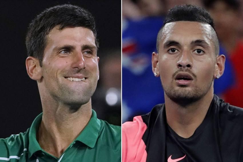 US Open 2020: Nick Kyrgios Takes Swipe At Novak 'Joker' Djokovic With Online Poll