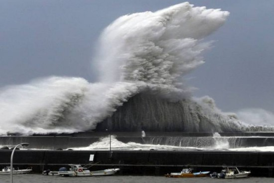 Typhoon Haishen Moves Onshore In S Korea After Battering Japan Isles