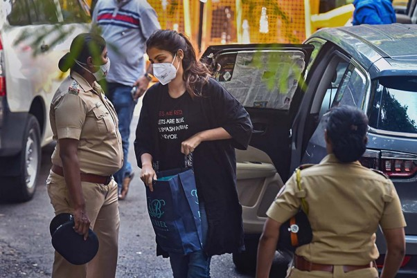 NCB Arrests Rhea Chakraborty In Drug Probe Related To Sushant Singh Rajput Death Case