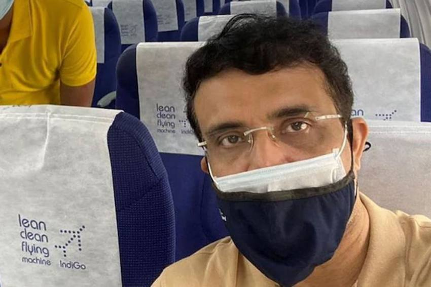 IPL 2020 In UAE: BCCI Boss Sourav Ganguly Will Be In Quarantine For Next Six Days