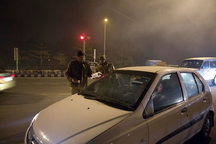 Over 1,300 Challans Issued On New Year's Eve In Delhi