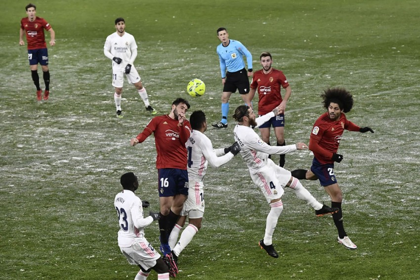 Zinedine Zidane: Real Madrid's Clash At Osasuna Clearly Should Have Been Postponed