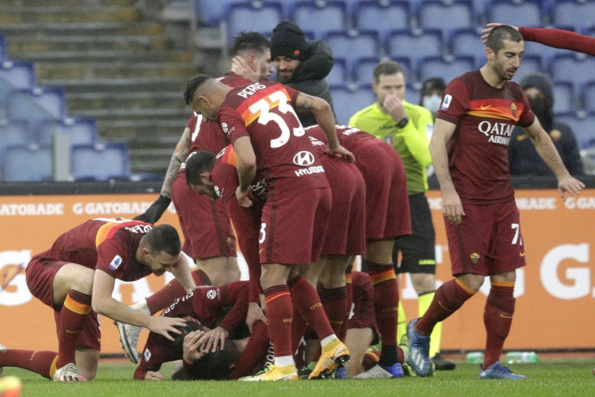 Roma 2-2 Inter: Late Gianluca Mancini Header Denies Nerazzurri