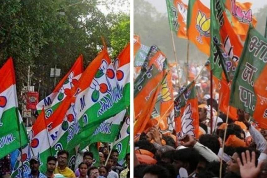 BJP, TMC Supporters Lock Horns In Bengal, Few Injured