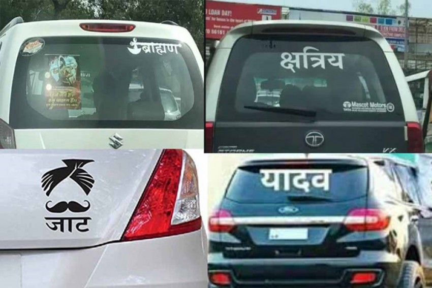 Uttar Pradesh: Caste Stickers Land 600 Vehicle Owners In Trouble