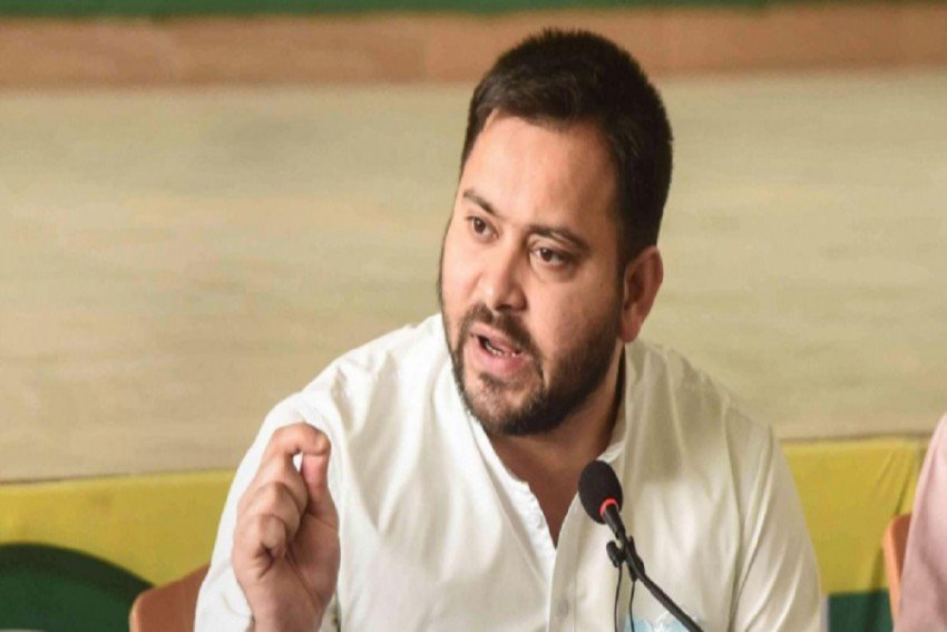 Tejashwi Threatens To Gherao CM Residence If Assembly Session Truncated