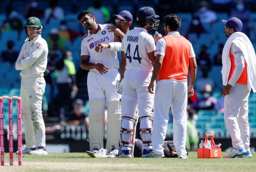AUS Vs IND: Hanuma Vihari, R. Ashwin Battle Pain, Bruises To Save Sydney Test - Highlights