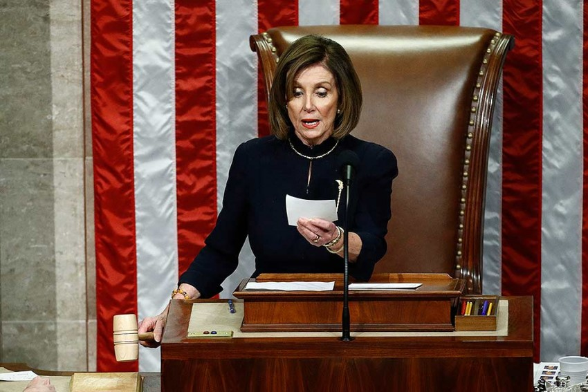US House 'Will Proceed' With Impeachment Of Donald Trump, Says Nancy Pelosi