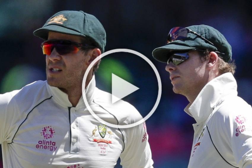 AUS Vs IND, Sydney Test: World Takes Pity On Aussie Pair Steve Smith, Tim Paine - VIDEOS