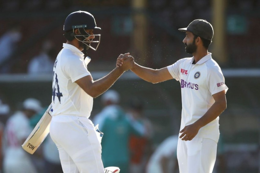 AUS Vs IND, 3rd Test: India Frustrate Australia To Hold On For Draw In Third Test In Sydney