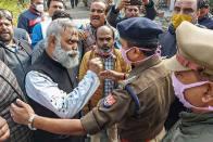AAP MLA Somnath Bharati Arrested After Ink Attack On Him