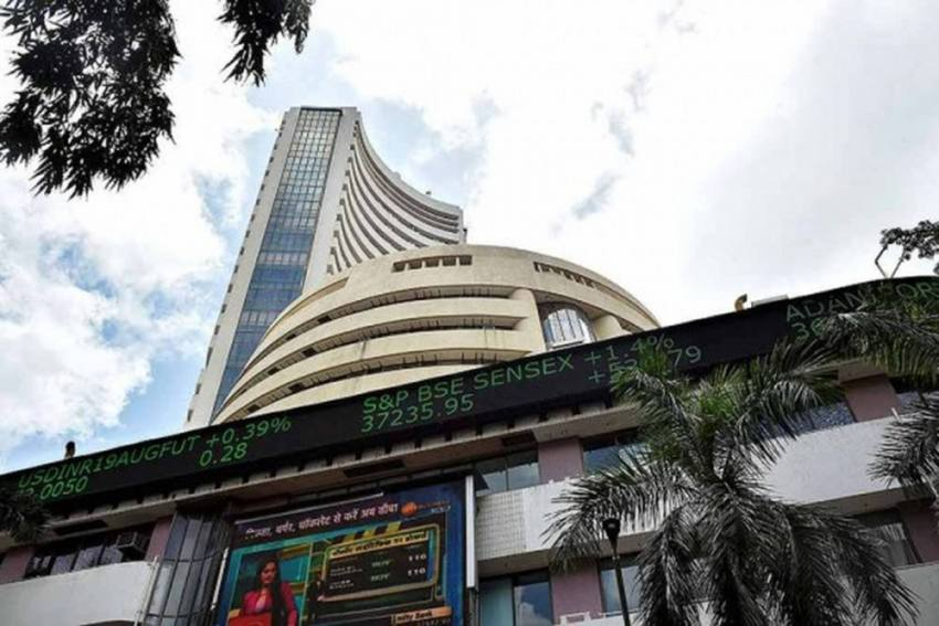 Record High: Sensex Rallies 487 Points To Close Above 49,000 For First Time