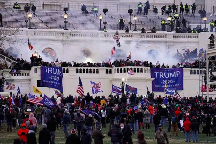 US: Capitol Police Did Not Amp Up Security Despite Being Warned About A Possible Riot