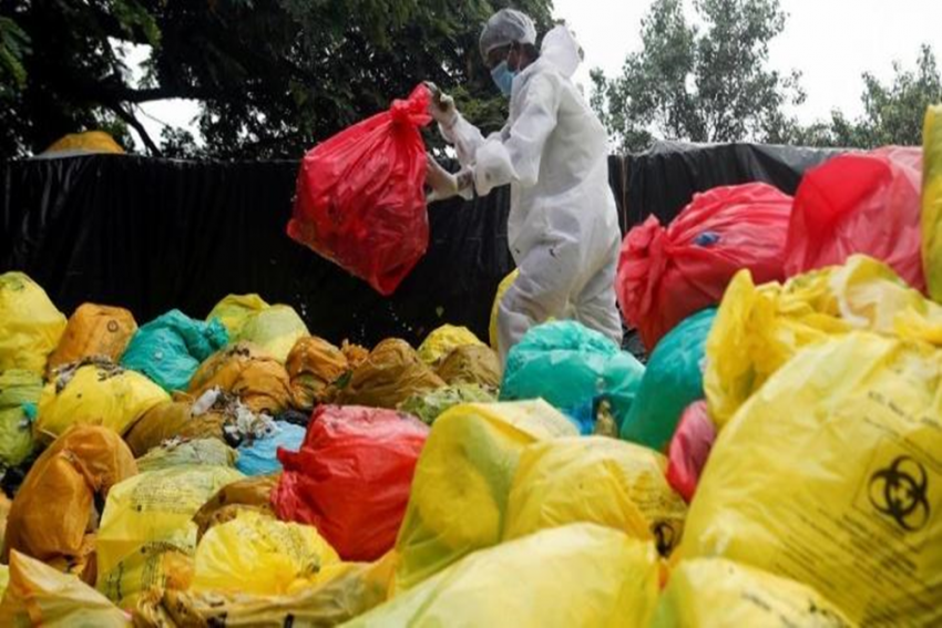India Generated 33,000 Tonnes Of Covid Waste In Last 7 Months