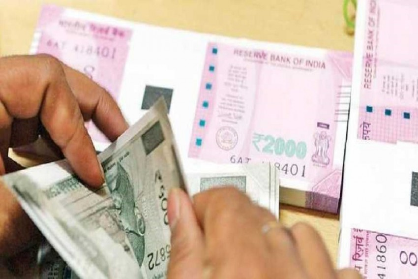 Rupee Slips 4 Paise To 73.44 Against US Dollar In Early Trade