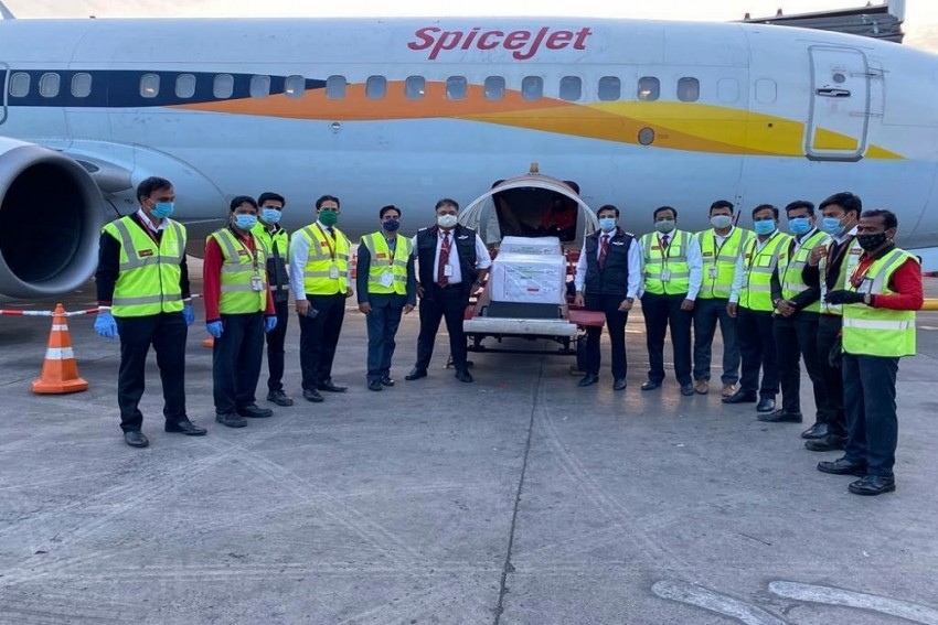 From Pune To Delhi: Maiden Flight With Covid-19 Vaccines Lands Ahead Of Inoculation Drive