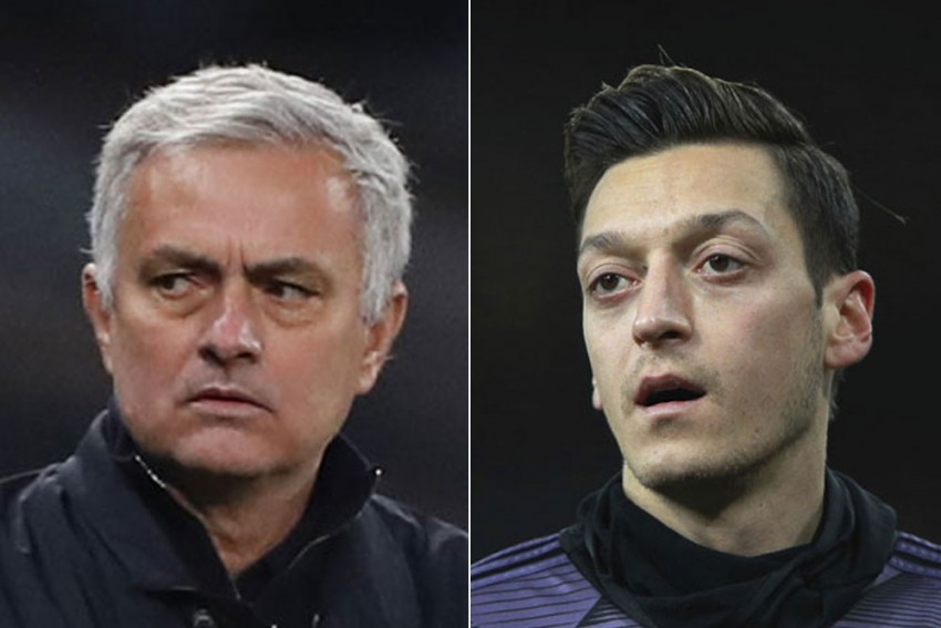 Jose Mourinho Takes Dig At Mesut Ozil And Rules Out Harry Winks Exit