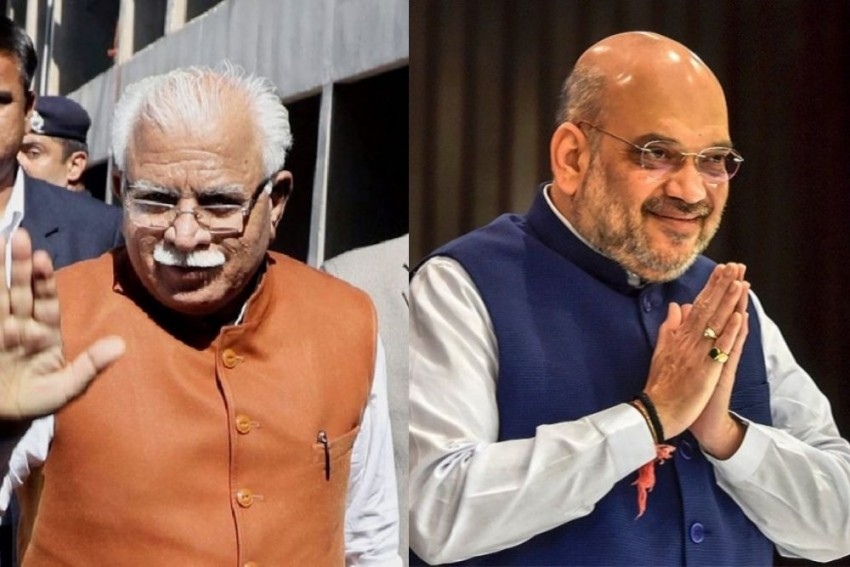 Haryana CM, Dy CM Meet Amit Shah After SC Stays Implementation Of Farm Laws