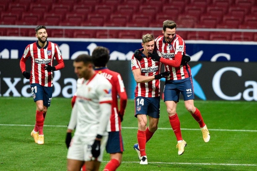 Atletico Madrid 2-0 Sevilla: Clinical And Impenetrable Hosts Go Four Points Clear In La Liga