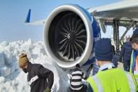 Delhi-Bound Flight Gets Stuck In Snow At Srinagar Airport, Passengers Safe