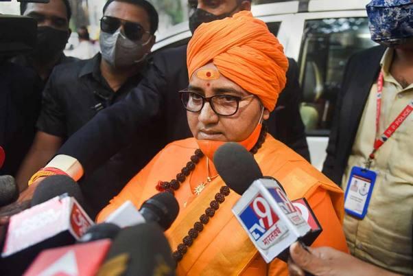 BJP MP Pragya Singh Thakur Calls Nathuram Godse A 'Patriot' While Attacking Congress