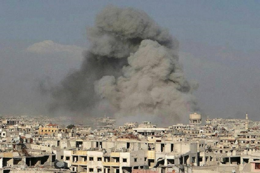 Israel Airstrikes Syria To Destroy Warehouse Storing Iranian Weapons; At Least 23 Killed