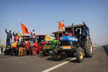 As A Mark Of Protest, Farmers In Delhi Will Burn Copies Of New Farm Laws On Lohri