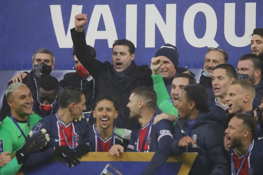 PSG 2-1 Marseille: Mauro Icardi, Neymar Deliver Mauricio Pochettino's First Managerial Trophy