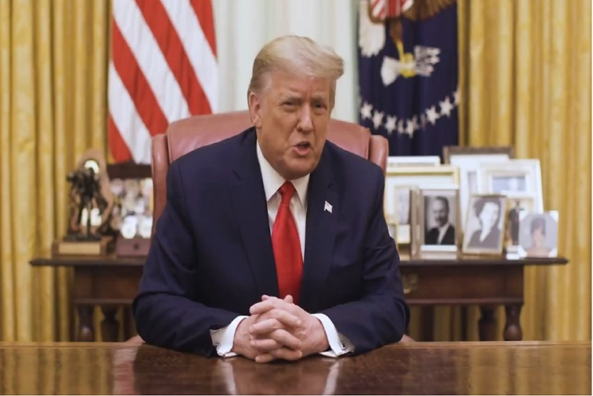 It Must Stop: Donald Trump Condemns Capitol Hill Violence; Makes No Mention Of Impeachment