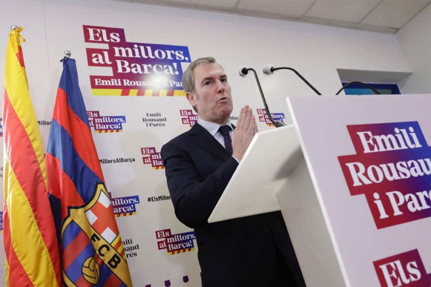 Three Remain In 'Dirty War' For Barcelona Presidency After Emili Rousaud Withdraws