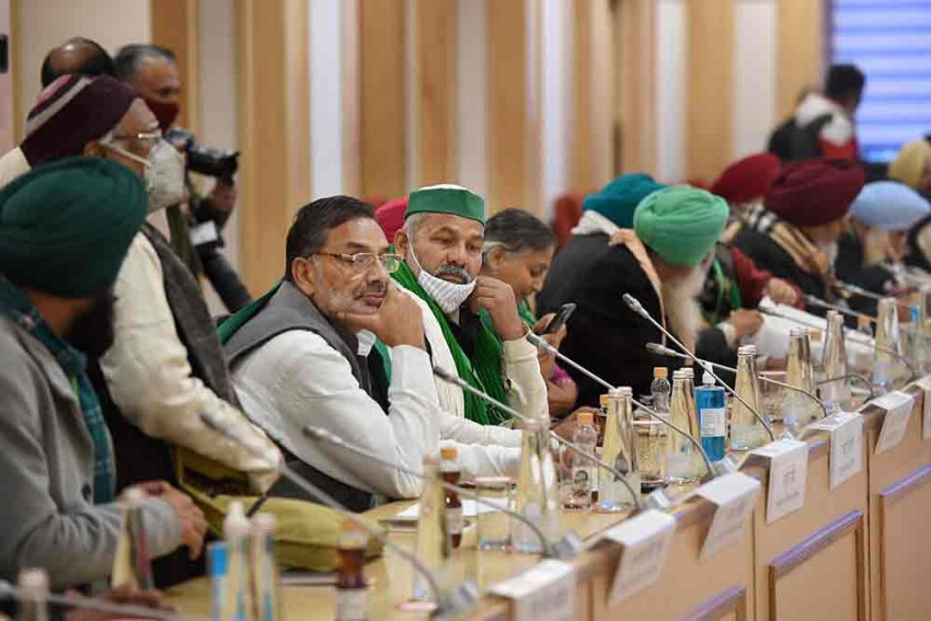 Farmers' Protest: Ninth Round Of Talks Between Farm Leaders And Centre Begin