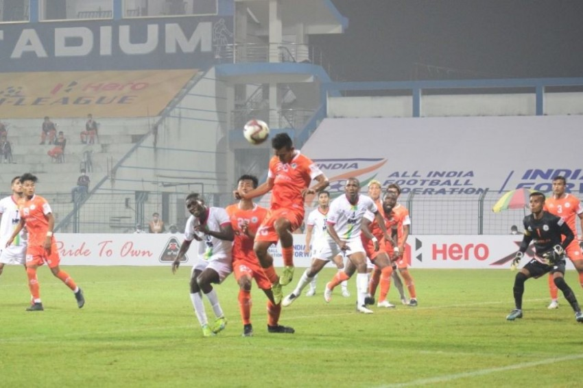 I-League:  NEROCA, TRAU Play Out 1-1 Draw In Imphal Derby
