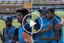 AUS Vs IND, 4th Test: Massive Moment For Washington Sundar, Thangarasu Natarajan As Tamil Nadu Pair Makes Debut - Watch