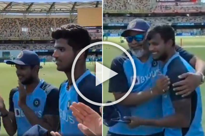 AUS Vs IND, 4th Test: The Stuff Dreams Are Made Of! Thangarasu Natarajan Makes Debut, Again - WATCH
