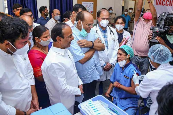Covid-19 Vaccination Drive Begins In Several States; Check Details Here