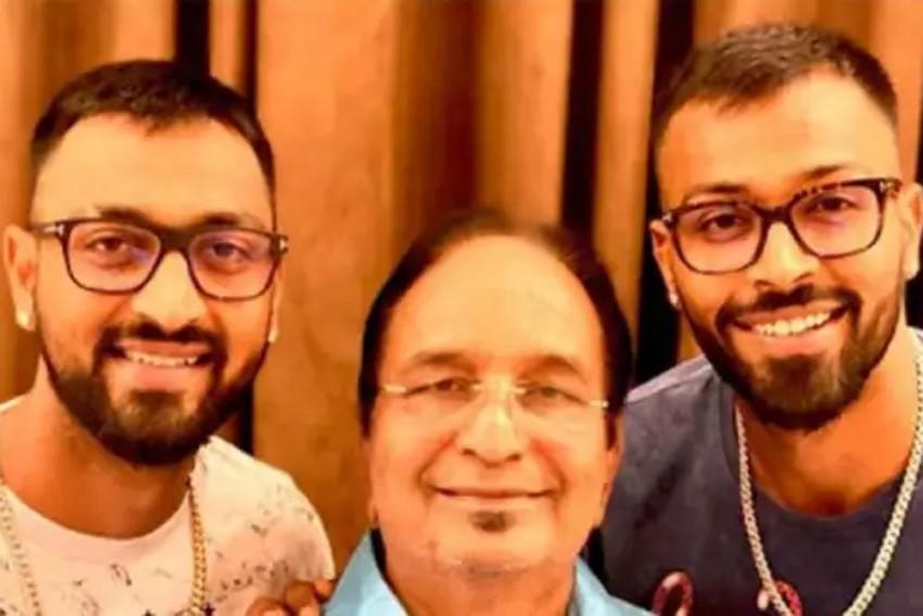 Hardik, Krunal Pandya's Father Dies Of Cardiac Arrest