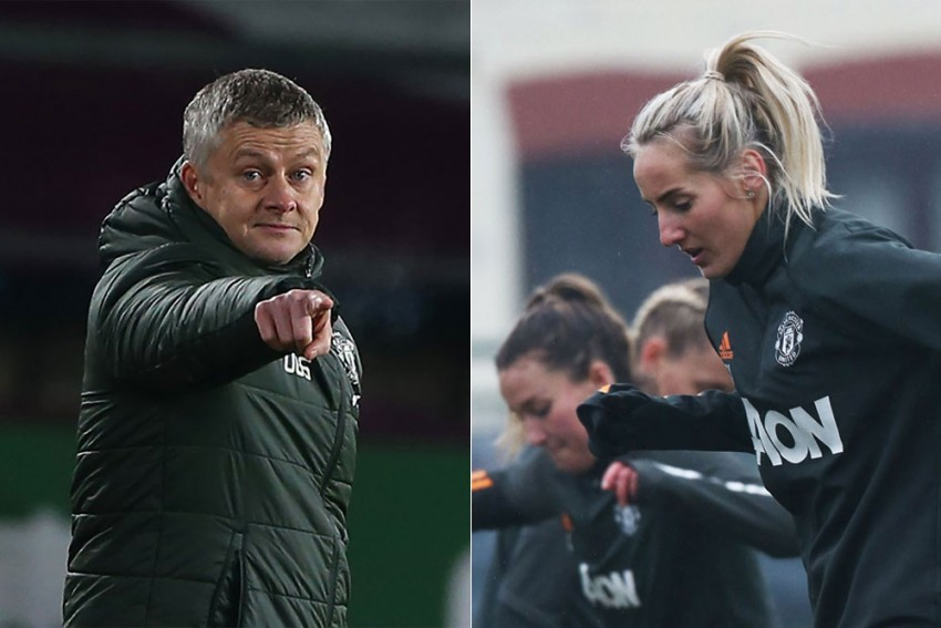 Double 1st: Manchester United Men, Women Teams Lead Leagues, Play Champions