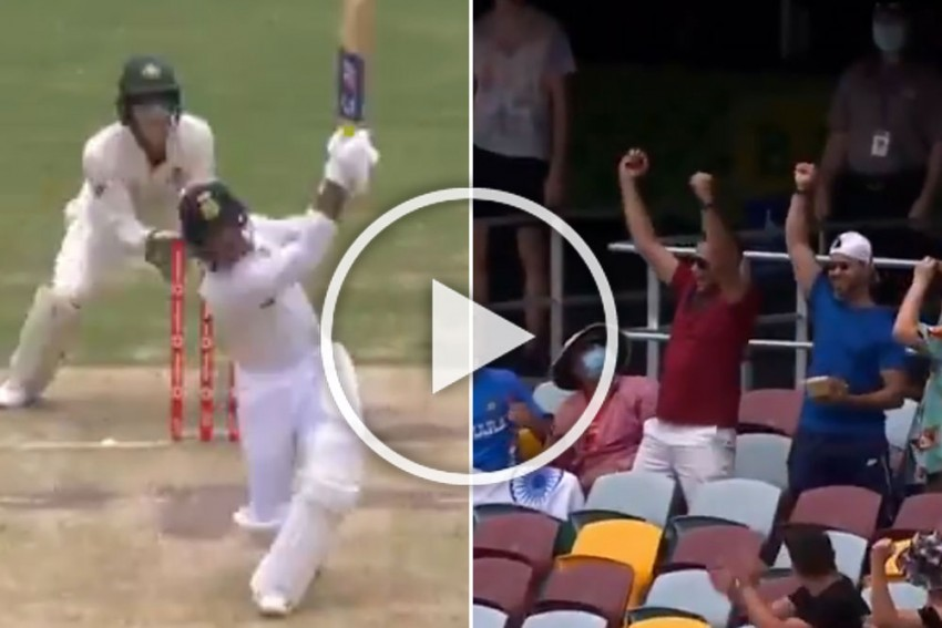 AUS Vs IND, 4th Test: Mayank Agarwal Monstrosity On Show At The Gabba - WATCH