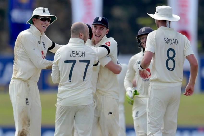 SL Vs ENG: Jack Leach Leaves Sri Lanka In A Spin Before Late England Wobble