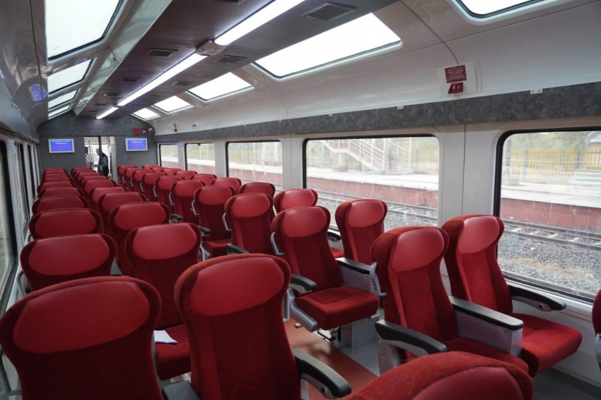 PM Modi Shares Glimpse Of Jan Shatabdi Express With Vistadome Coaches; See Pics