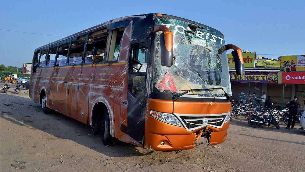 Rajasthan: 6 Killed, Over 30 Injured As Bus Comes In Contact With Hanging Live Wire