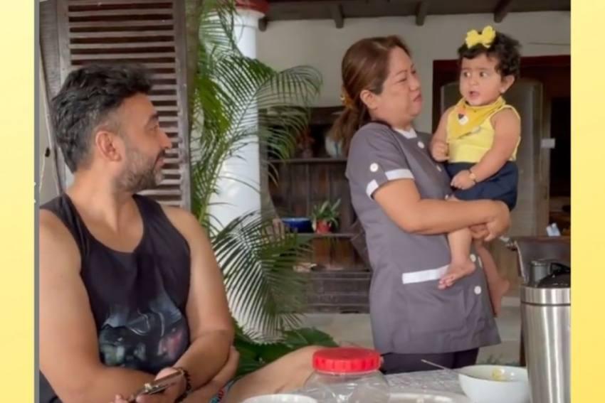 Cuteness Alert! Shilpa Shetty's Daughter Rocks Her New Toy Ride, Raj Kundra Shares Video