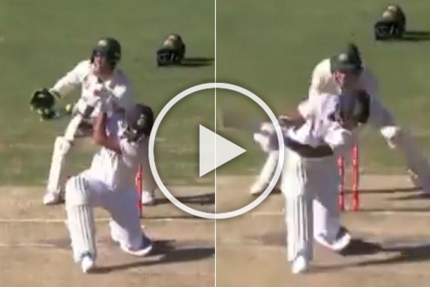 AUS Vs IND, Brisbane Test: Washington Sundar Makes A Mockery Of Aussie 'GOAT' Nathan Lyon - WATCH How