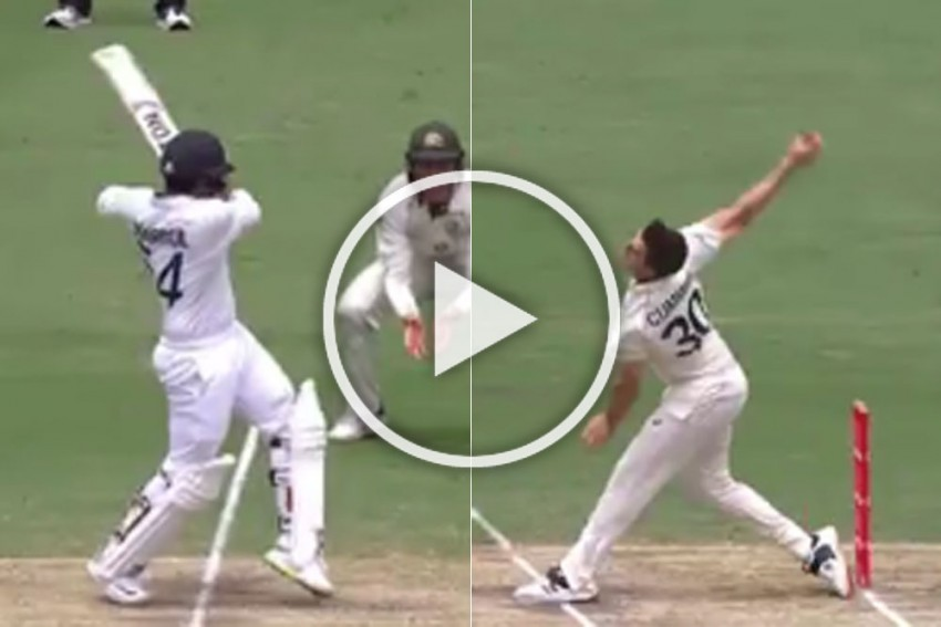 WATCH: The Shardul Thakur Way - Sixes To Score First Test Runs And Reach Maiden Fifty