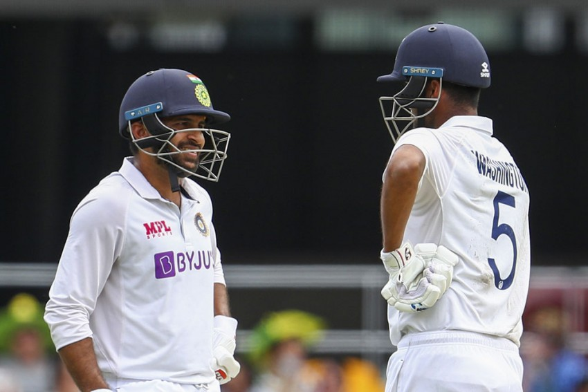 AUS Vs IND, 4th Test, Day 3: Washington Sundar, Shardul Thakur Keep Indian Hopes Alive In Finale