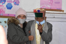 Himachal Pradesh Panchayat Polls:103-Year-Old India's First Voter Shyam Saran Negi Cast His Vote