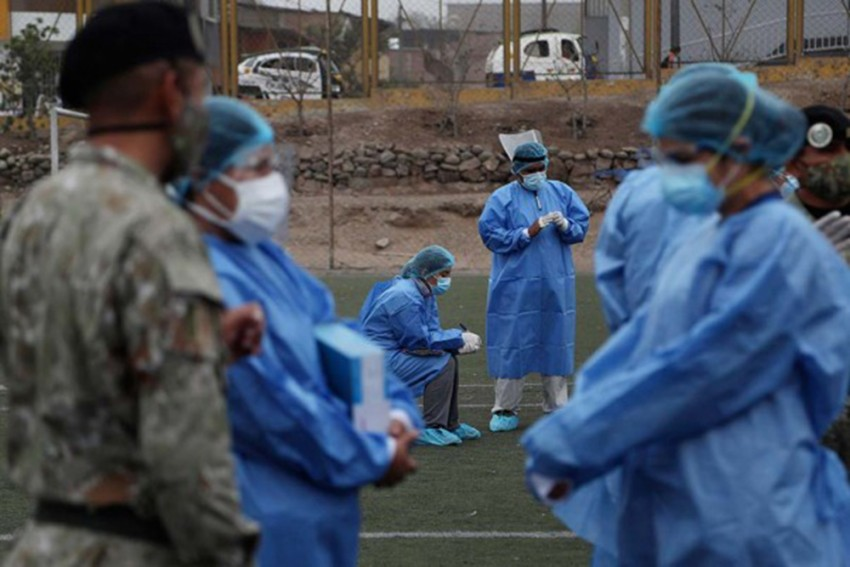Fearing They Will Be Implanted With Microchips, Many In Serbia, Bosnia Shun Covid-19 Vaccines