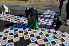 Biden-Harris Inauguration Ceremony Kickoffs With Auspicious Kolam Drawings