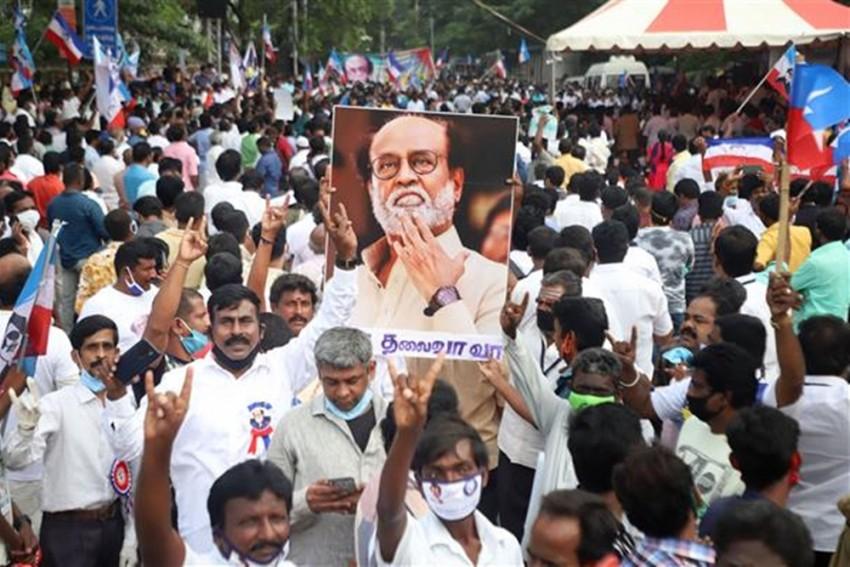 Rajinikanth's 'Makkal Mandram' Office-Bearers Join DMK In Presence Of MK Stalin